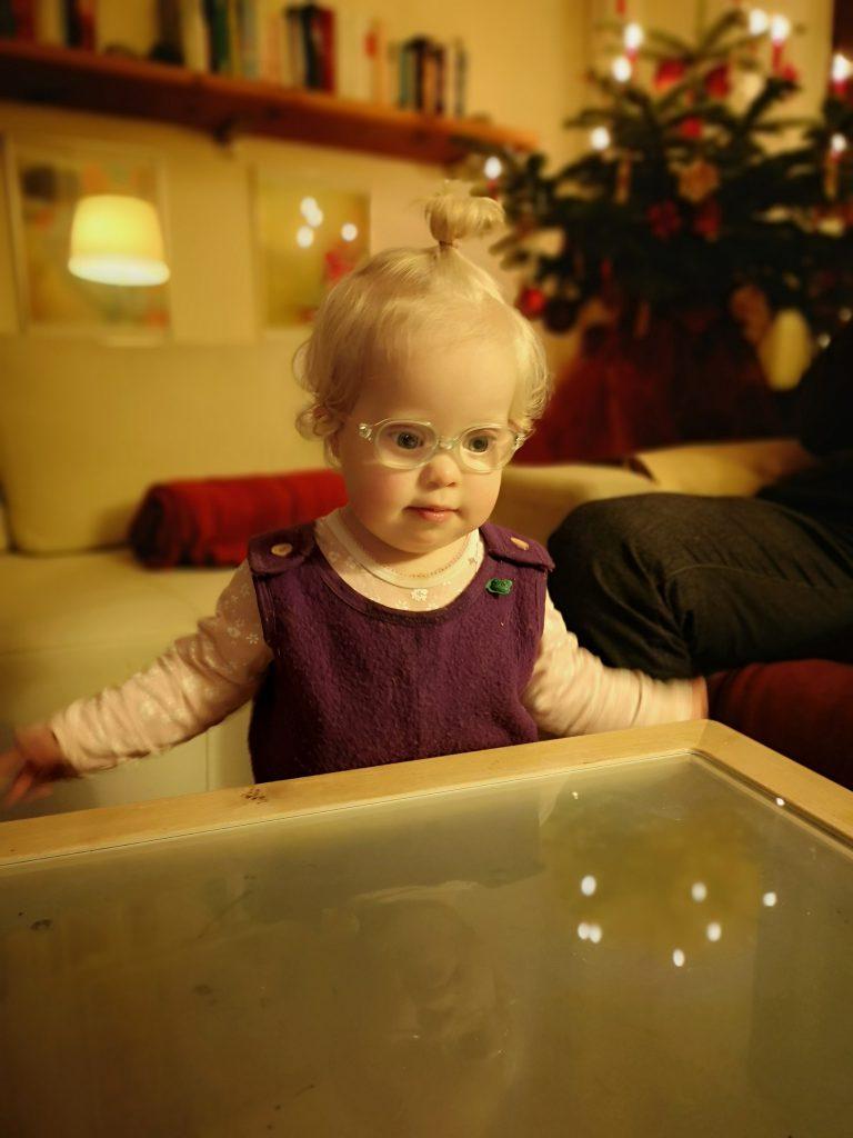 Baby zu Weihnachten