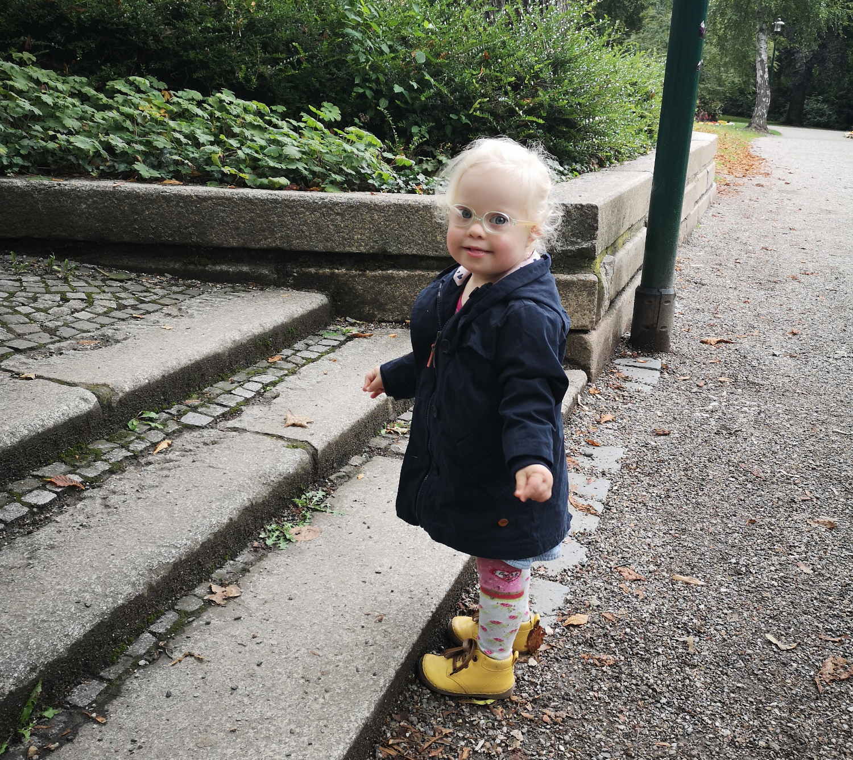 Ronja im Park